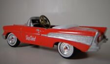 1957 Chevy Pedal Car Vintage Sport Show Hot Rod Midget Metal Model