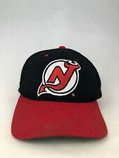 NEW JERSEY DEVILS VINTAGE 1990'S GROSSMAN CAP SNAPBACK ADUT HAT