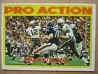 1972 Topps ROGER STAUBACH PRO ACTION RC Rookie Card #122 Dallas Cowboys  -  BB