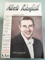 🎥 🎙️Rabagliati Alberto - L'astro del microfono biografia - Cantante Ed. Albore
