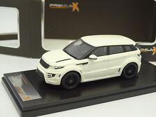 Premium X Résine 1/43 - Range Rover Evoque Onyx 2012 Blanche