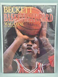 Michael Jordan #1 Beckett Basketball Magazine March April 1990 First Issue Bulls