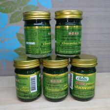 Green massage balm Thailand Clinacanthus herbal Barleria Muscle / No Pain 10-50g
