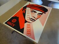 "2010 Shepard Fairey Obey Giant ""Your Eyes Here"" ART PRINT STREET PASTER POSTER 1"