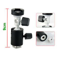 New Flash Adapter Hot Shoe 360° Swivel Light Stand Mount Umbrella Holder Bracket