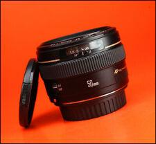 Canon EF 50mm F1.4 USM Autofocus Prime Lens - With Front & Rear Lens Caps