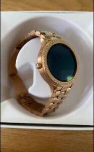 fossil smart watch womens rose gold