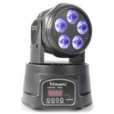 BeamzMHL90 Mini moving head wash 5x 18W 6-in-1 LED