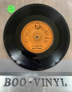 "Come Back Girl Nicky Thomas UK 7"" vinyl single record TRO9026 TROJAN 1977 VG+"
