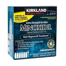 KIRKLAND MINOXIDIL 5% LOTION - 6 MONTH SUPPLY - EXP. 08/2021 - FREE  UK DELIVERY
