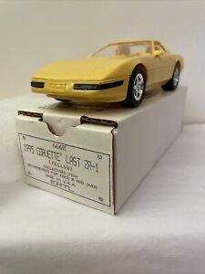 1995 Corvette Promo Last ZR-1 Yellow 1 Of 48 Produced New Original Box