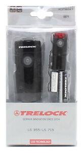 Trelock Led-Fahrradleuchtenset  15 Lux L, 0671