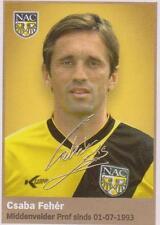 AH 2009/2010 Panini Like sticker 118 Csaba Feher NAC Breda
