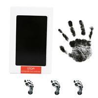 Schwarzer Stempelkissen Stempel Fingerabdruck Handwerk Ungiftig Safe Z3J0 Y7F5