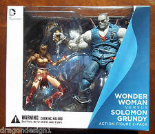 DC INJUSTICE: GODS AMONG US. WONDER WOMAN VS SOLOMON GRUNDY ACTION FIGURE 2 PACK