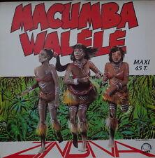 ZINDIVA MACUMBA WALELE PATRICE SERRES ARTWORK FRENCH  LP