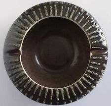 GUNDA AUSSIE MODERNIST POTTER ASHTRAY BOWL SIGNED #82 EXCELLENT CONDITION