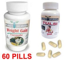 Gain Weight Pills Fast Gain Weight – Weight Gainer Pills (Qty 60) Tulsi Herbal