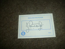 J Paul TAYLOR  England  Cricket  / Cricketer  ORIGINAL Hand Signed Card