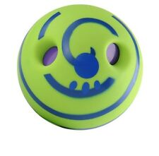 "Wobble Wag Giggle Ball for Dog Toy 5.5"" Fun giggly noises when pushed"