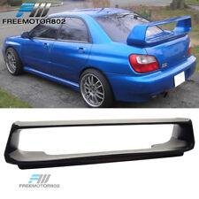 Fit For 02-07 Subaru Impreza WRX STI ABS Trunk Spoiler Wing With 3RD Brake Light