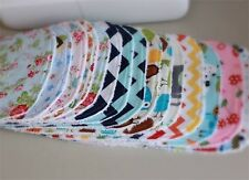 Handmade bibs bulk lot of 5 - choose your own designs