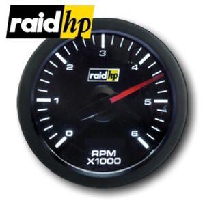 raid hp SPORT - Drehzahlmesser 1-12 Zylinder - Diesel + Benziner - Instrument
