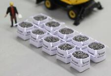 More details for stone ind. model tonne bags 1mm grey ballast loads oo/ho gauge 1/76 - pack of 10