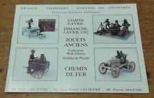 Catalogue de vente, Chartres, 4 et 5 avril 1992 (Jouets anciens, Chemin de fer)