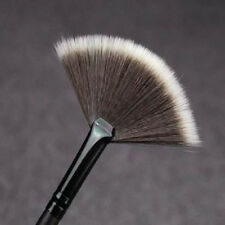 Professional Pro Fan Shape Lady Useful Cosmetic Brush Blending Face Powder Tools