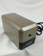 X-ACTO Gold + Black Electric Pencil Sharpener Model #18XXX Used Works