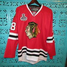 Chicago Blackhawks Patrick Kane #88 Reebok Hockey Jersey 2010 Stanley Cup Sz 46