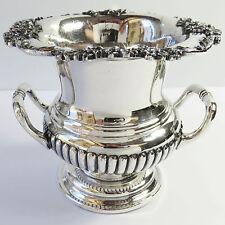 Vintage James Dixon & Sons Silverplate Miniature Urn Vase