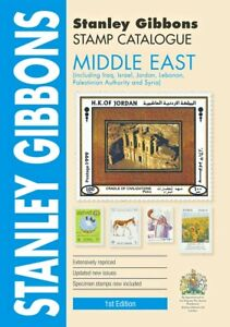 Middle East Stamp Catalogue - Stanley Gibbons 1st Edition 416 pages - SAVE 10%