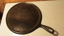 Griswold Cast Iron Round Griddle No. 9