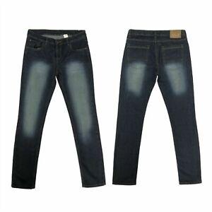 Boys G72 Slim Fit Pants Cotton Multi Pocket Casual Sand Blasted Denim Jeans