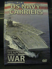 US NAVY CARRIERS, WEAPONS OF WAR, DVD, 2006, Very Informative, quiz at the end..