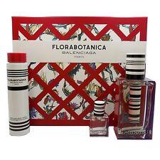 BALENCIAGA FLORABOTANICA 3 PIECE GIFT SET EAU DE PARFUM SPRAY 100ML (NIB-405313)
