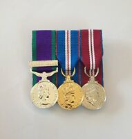 GSM Northern Ireland, Golden & Diamond Jubilee, Court Mounted Miniature Medals