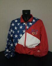 Vintage Starter 1992 Olympic Windbreaker Jacket  Size Large