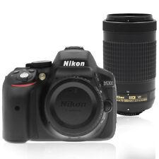 Nikon D5300 24MP Digital SLR Camera with 70-300mm AF-P DX Nikkor Lens