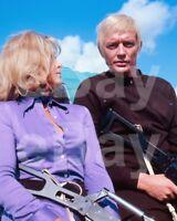 UFO (TV) Wanda Ventham, Ed Bishop 10x8 Photo