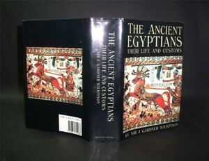 1988 Wilkinson THE ANCIENT EGYPTIANS Their Life & Customs 2 Vols in 1 H/B D/W