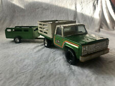 Vintage 1970's Nylint Farms Truck & Trailer (pressed steel)