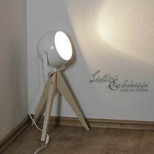 Lampe design en bois GU10 35W H 47cm de table pour la vie et Chambre à coucher