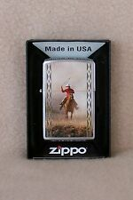 Zippo Lighter     COWBOY ROPING