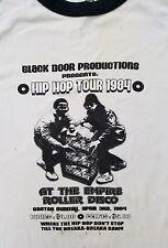 Rare 1984 Run Dmc Hip Hop Long Sleeve T-Shirt true vintage 80s rap tee Large