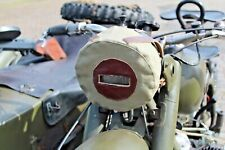 K750 Dnepr Ural headlamp headlight blackout cover green