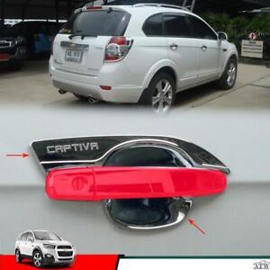 Use in 12-15 Chevrolet Captiva Suv 4 Doors Chrome Handle Bowl Inner cover Trim