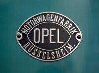 10cm! Aufkleber Decal UV&WASCHANLAGENFEST kratzfest Opel Auto-Logo bunt AC127